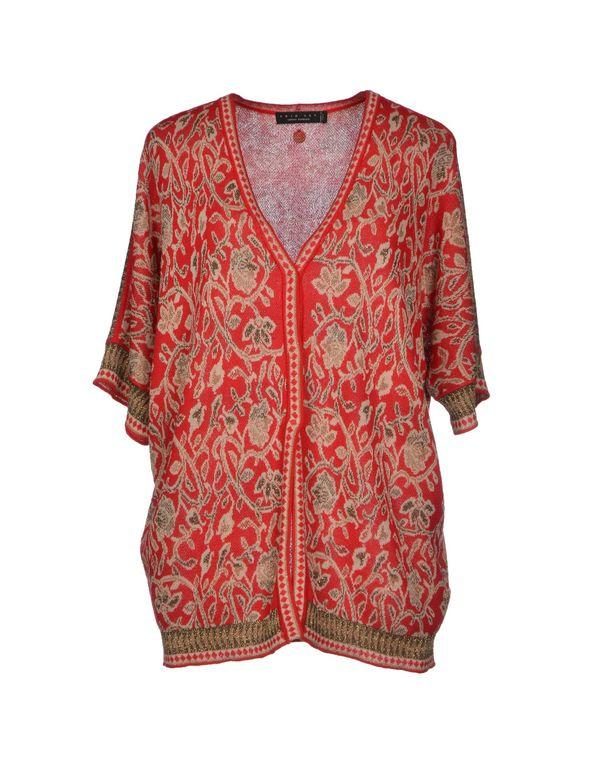 红色 TWIN-SET SIMONA BARBIERI 针织开衫
