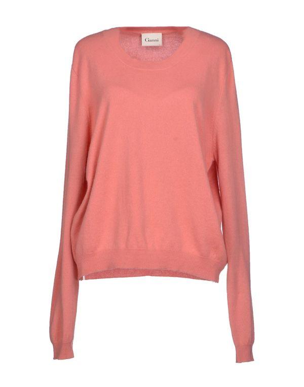 水粉红 GANNI 套衫