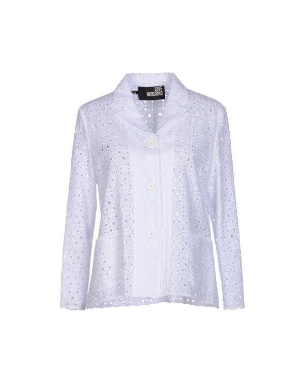 白色 LOVE MOSCHINO 西装上衣
