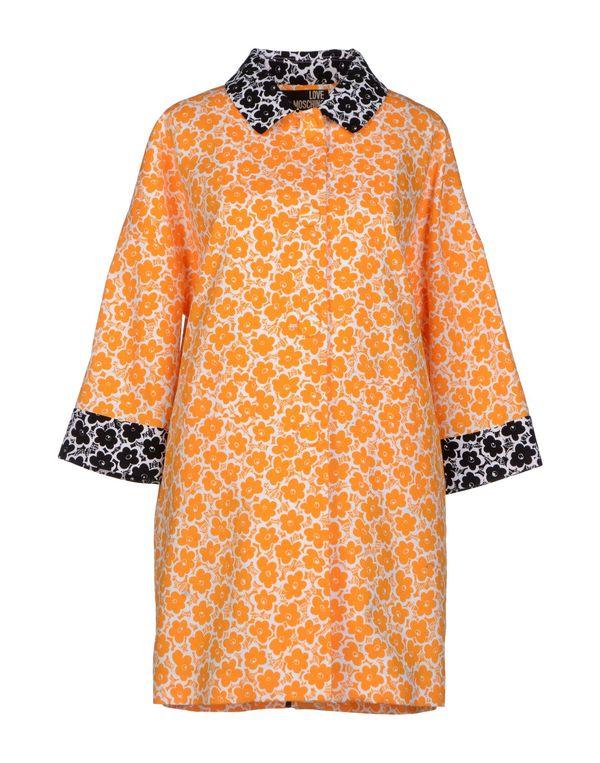 橙色 LOVE MOSCHINO 外套