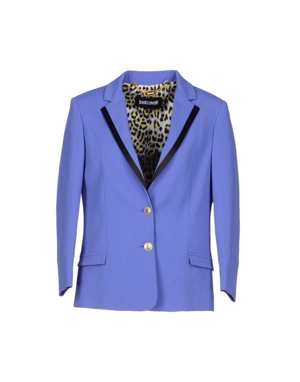 紫色 JUST CAVALLI 西装上衣