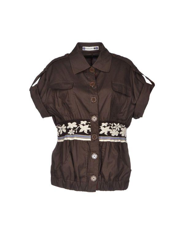 深棕色 PIANURASTUDIO 夹克