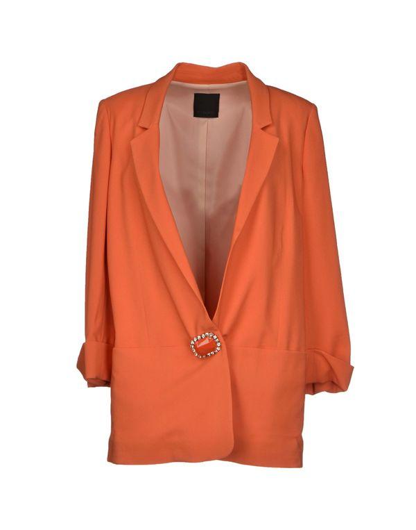 橙色 PINKO BLACK 西装上衣