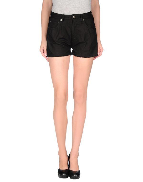 黑色 M.GRIFONI DENIM 短裤