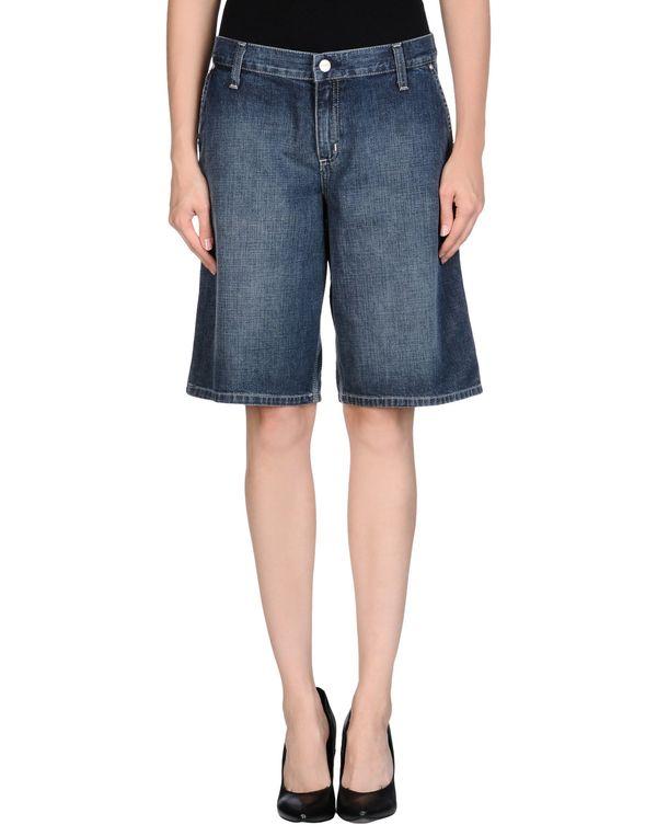蓝色 CARHARTT 百慕大牛仔短裤