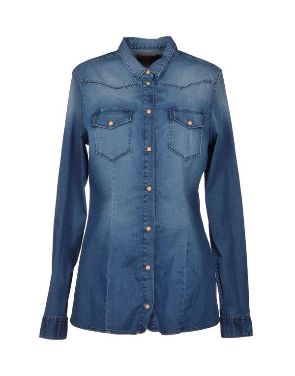 蓝色 7 FOR ALL MANKIND 牛仔衬衫