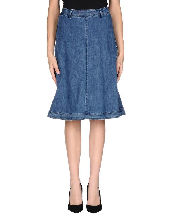 蓝色 JUCCA 牛仔半裙