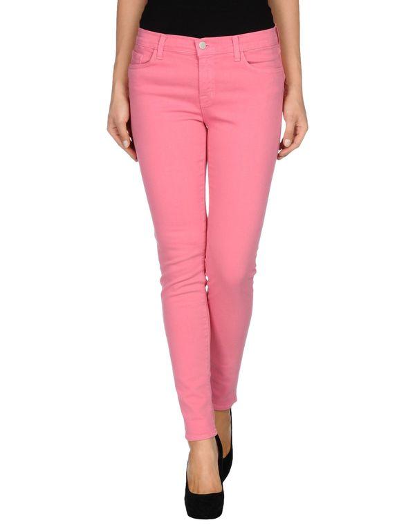 浅紫色 J BRAND 牛仔裤