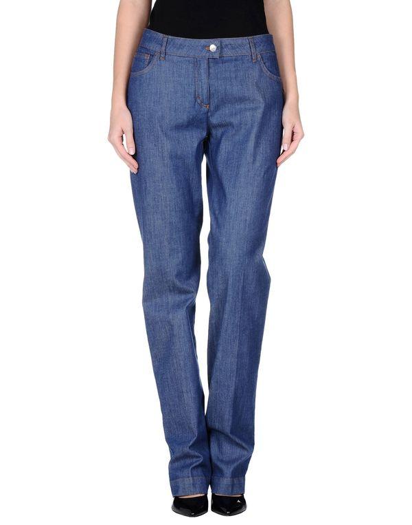 蓝色 PIAZZA SEMPIONE 牛仔裤