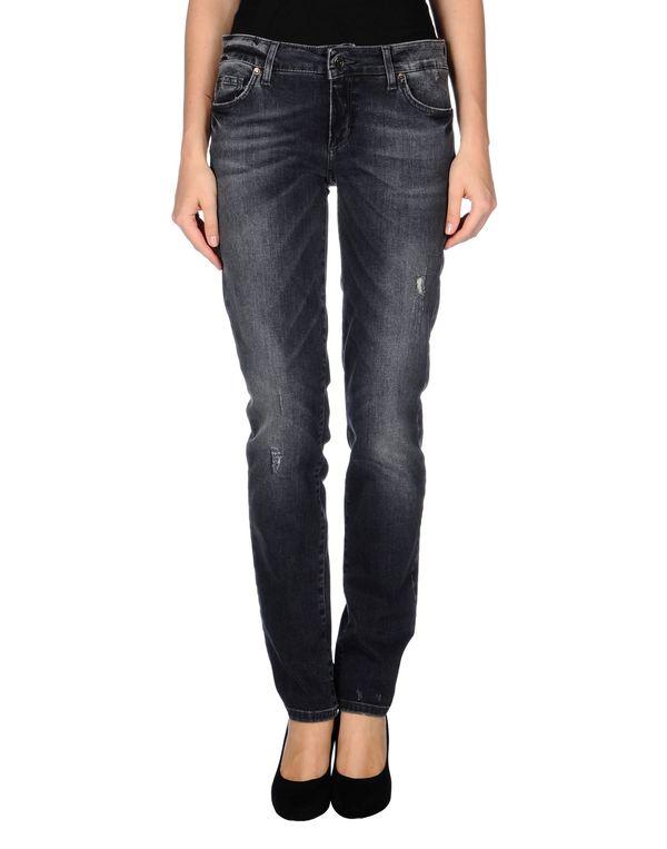 青灰色 LIU •JO JEANS 牛仔裤