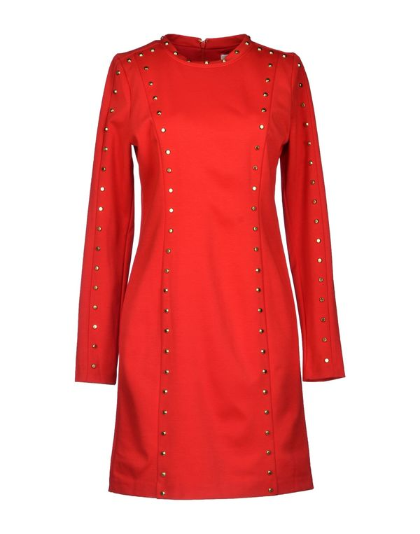 红色 MICHAEL MICHAEL KORS 短款连衣裙