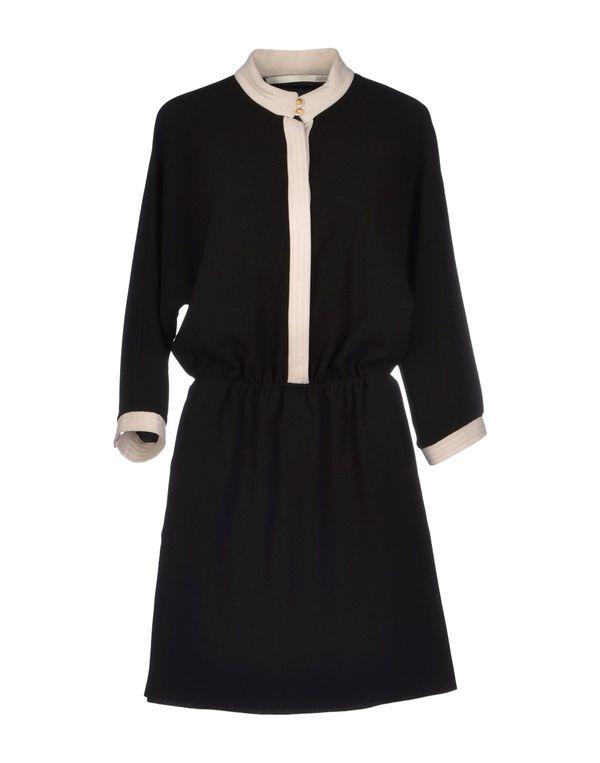黑色 M.GRIFONI DENIM 短款连衣裙