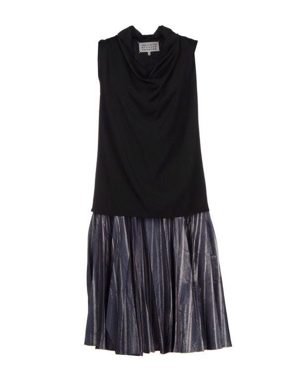 黑色 MAISON MARTIN MARGIELA 1 及膝连衣裙