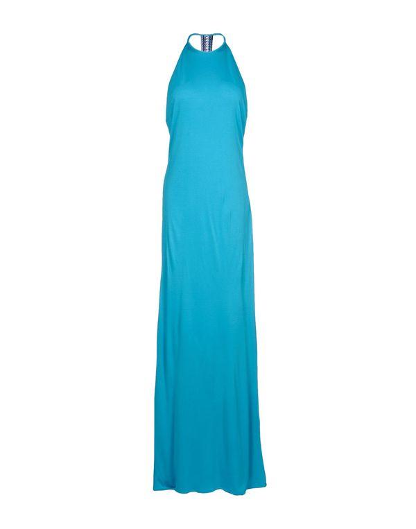 蓝绿色 EMILIO PUCCI 长款连衣裙