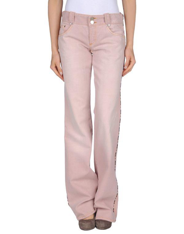 粉红色 ALEXANDER MCQUEEN 牛仔裤