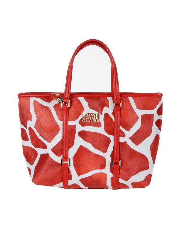 红色 CLASS ROBERTO CAVALLI Handbag