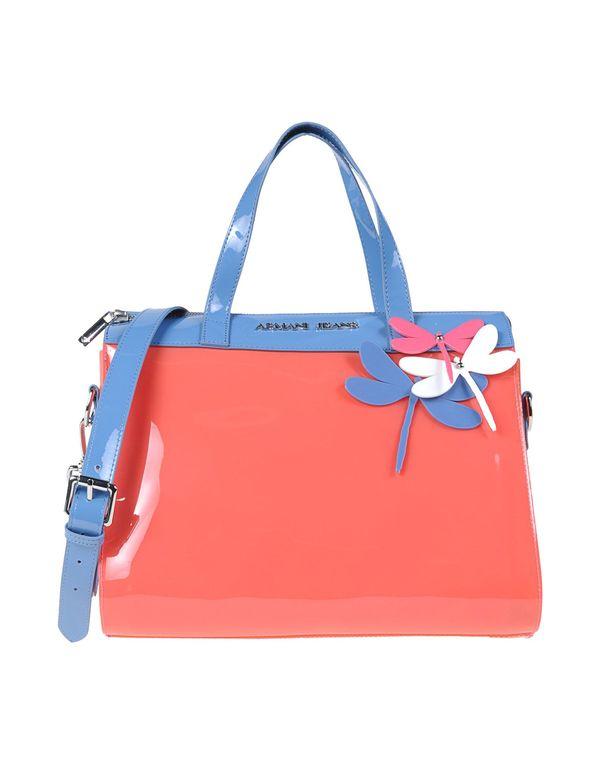 粉红色 ARMANI JEANS Handbag