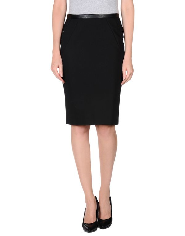 黑色 HANITA 及膝半裙
