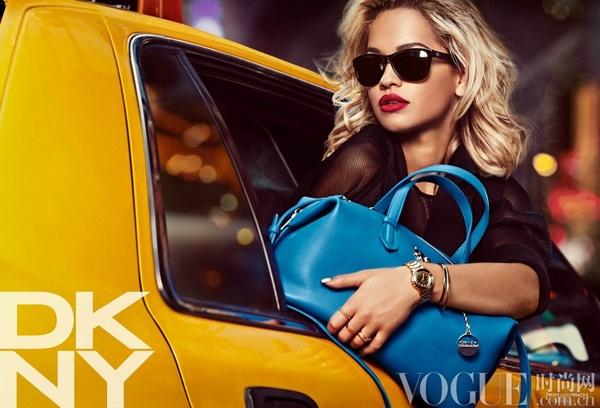 Rita Ora完美演绎DKNY2014度假系列广告大片