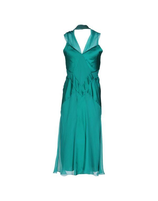 绿色 ALBERTA FERRETTI 中长款连衣裙