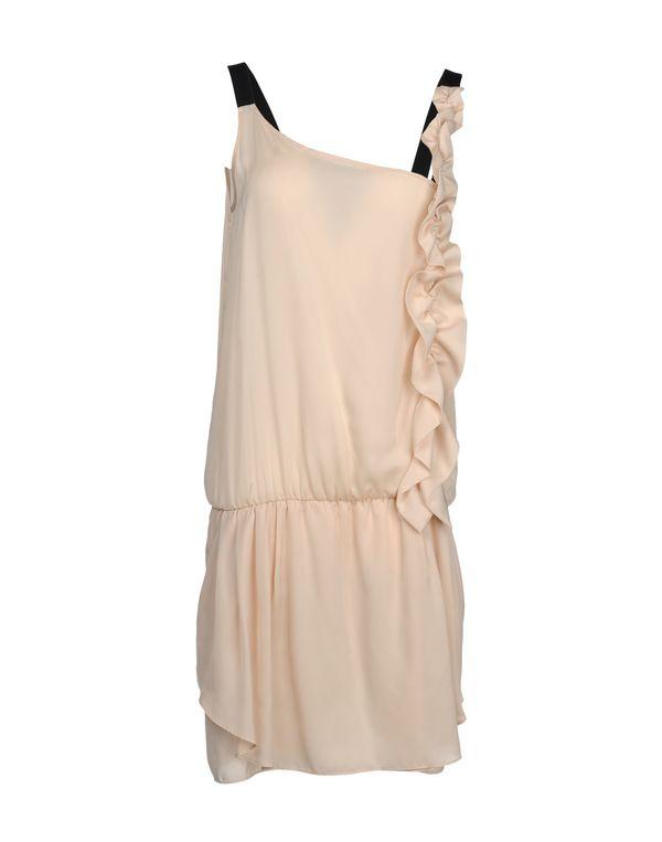 沙色 PINKO GREY 短款连衣裙