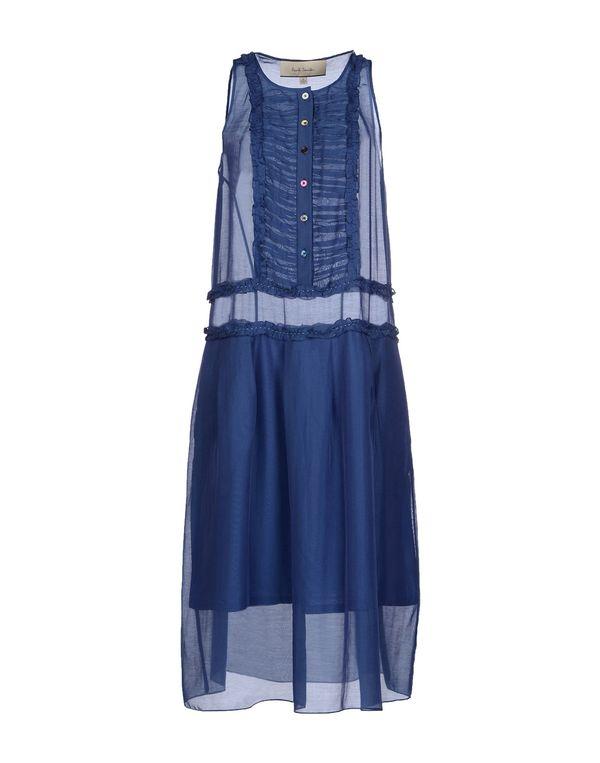 蓝色 PAUL SMITH 中长款连衣裙