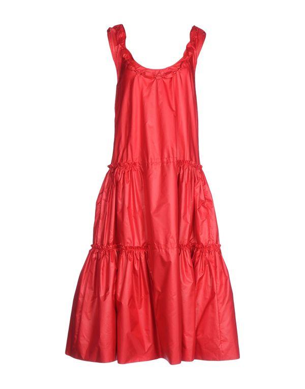 红色 MOSCHINO CHEAPANDCHIC 中长款连衣裙