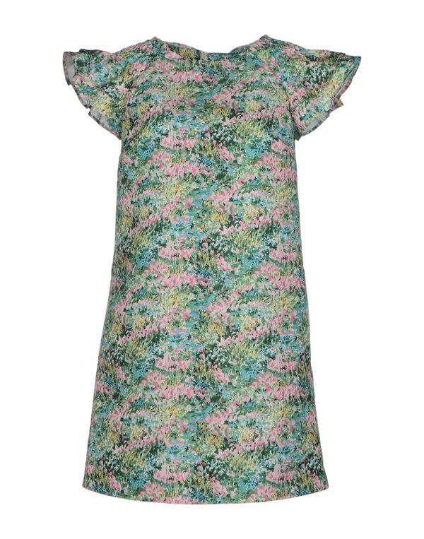 绿色 REDVALENTINO 短款连衣裙