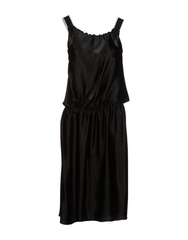 黑色 D&G 中长款连衣裙