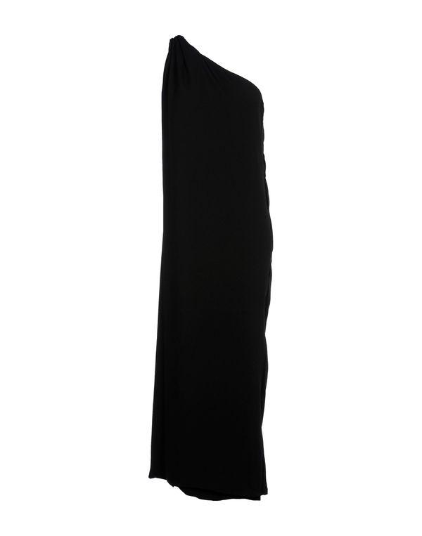 黑色 DIANE VON FURSTENBERG 长款连衣裙