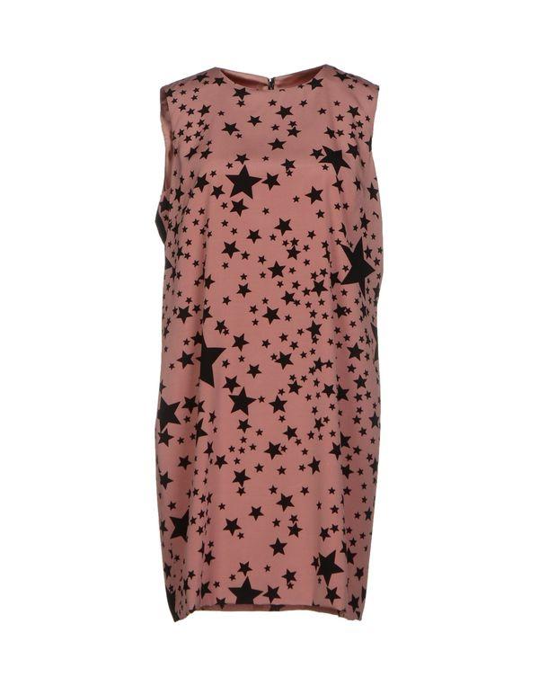 水粉红 DOLCE & GABBANA 短款连衣裙