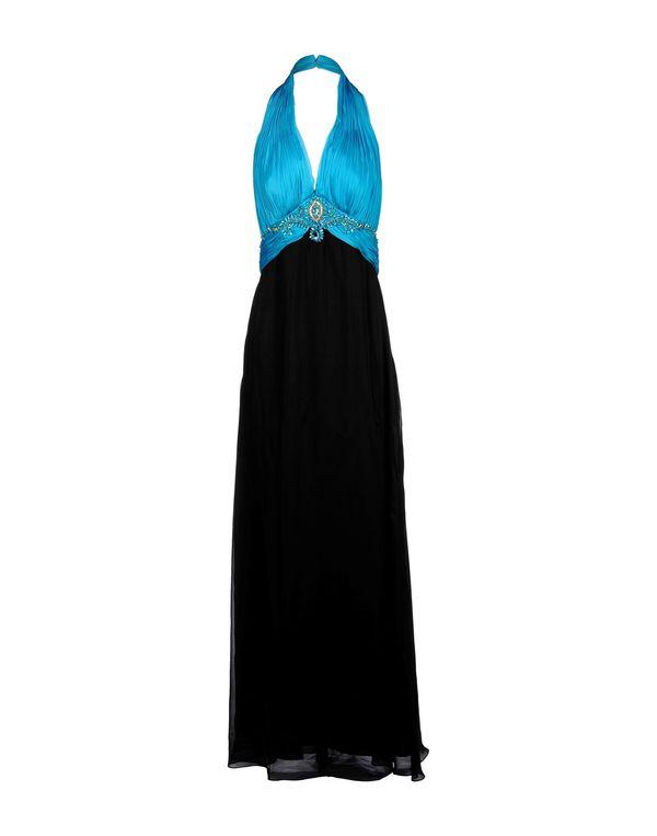 黑色 SCERVINO STREET 长款连衣裙