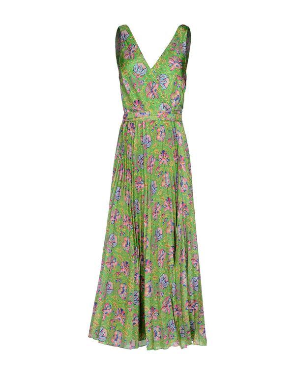 绿色 RALPH LAUREN 中长款连衣裙