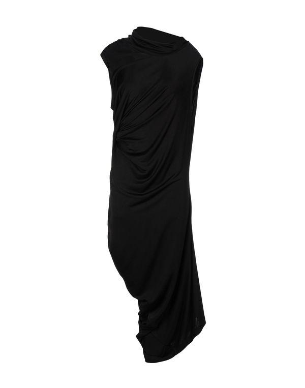 黑色 MCQ ALEXANDER MCQUEEN 中长款连衣裙