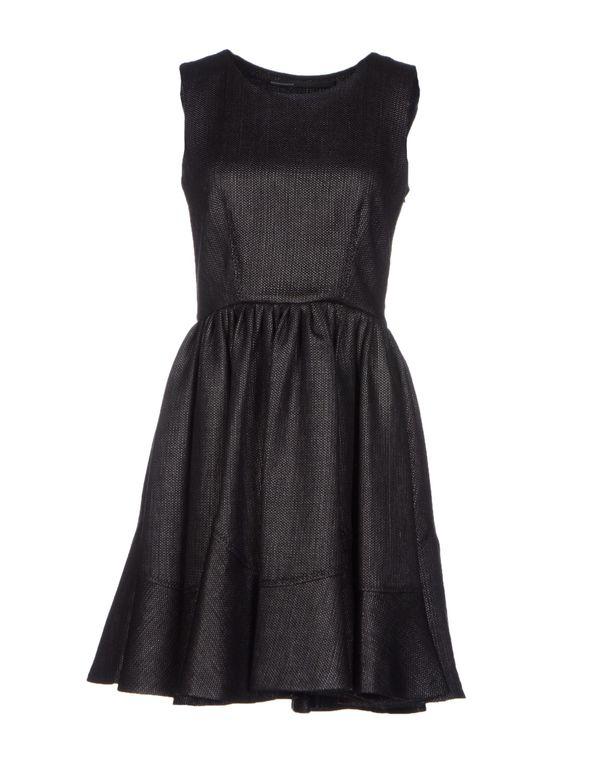黑色 GAETANO NAVARRA 短款连衣裙