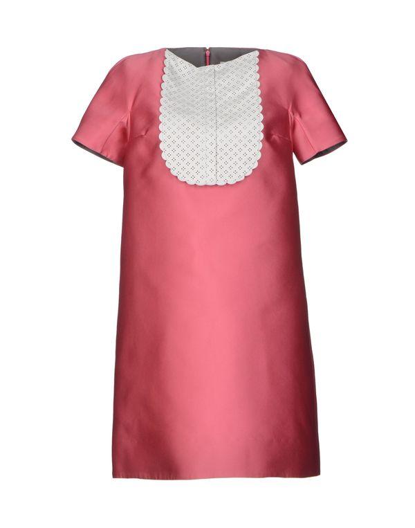浅紫色 VIKTOR & ROLF 短款连衣裙