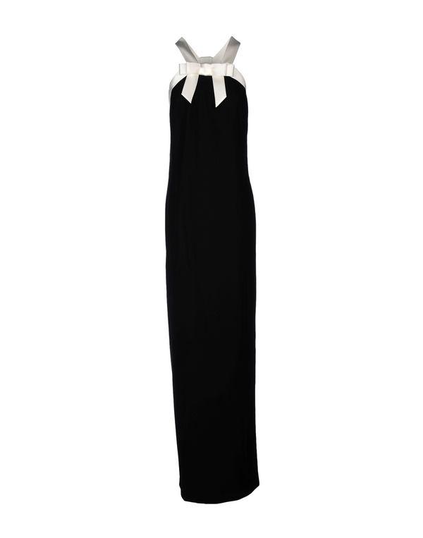 黑色 VIKTOR & ROLF 长款连衣裙