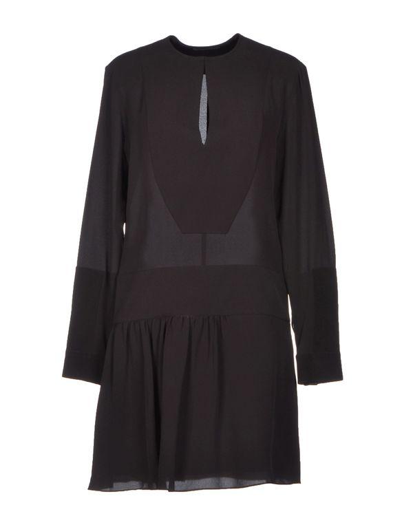 黑色 BALENCIAGA 短款连衣裙