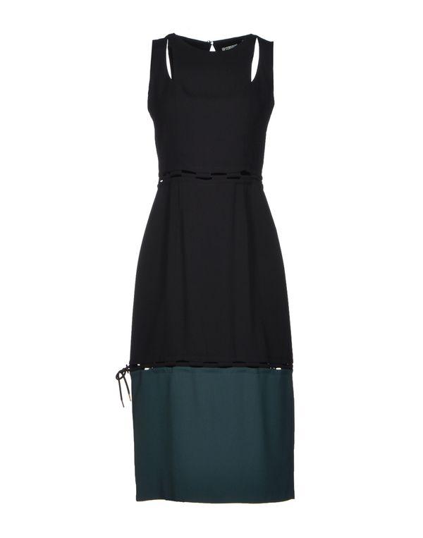 黑色 KENZO 及膝连衣裙