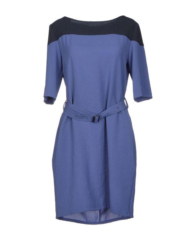 粉蓝色 BURBERRY BRIT 短款连衣裙