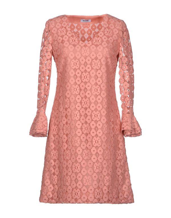 鲑鱼粉 MOSCHINO CHEAPANDCHIC 短款连衣裙