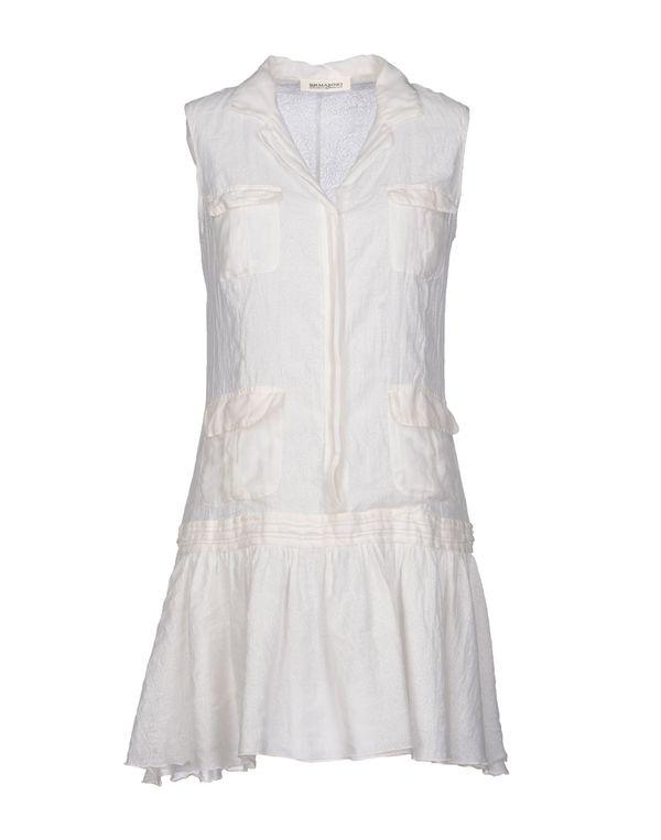 白色 ERMANNO ERMANNO SCERVINO 短款连衣裙