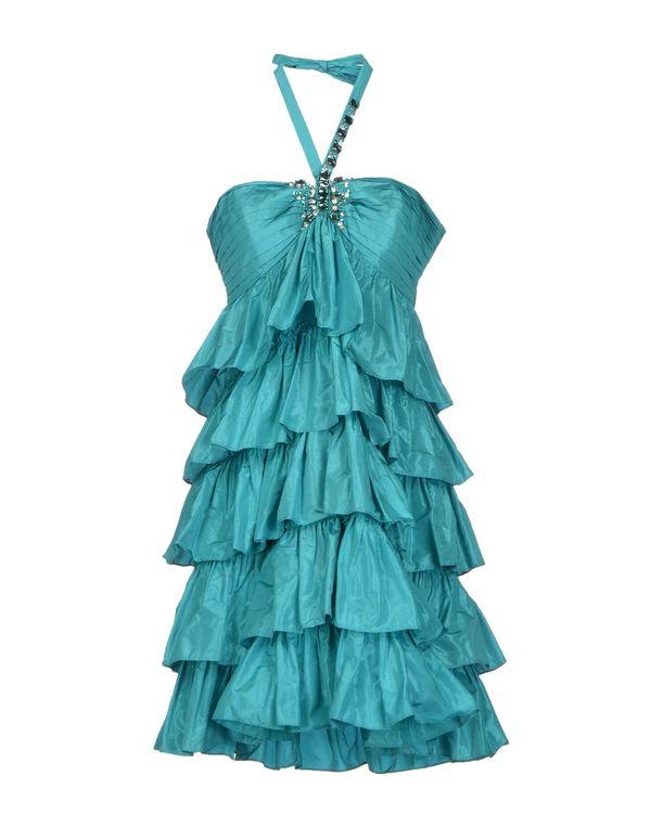 蓝绿色 BLUGIRL BLUMARINE 短款连衣裙