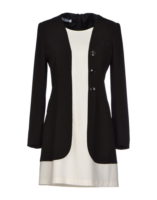 黑色 MOSCHINO CHEAPANDCHIC 短款连衣裙