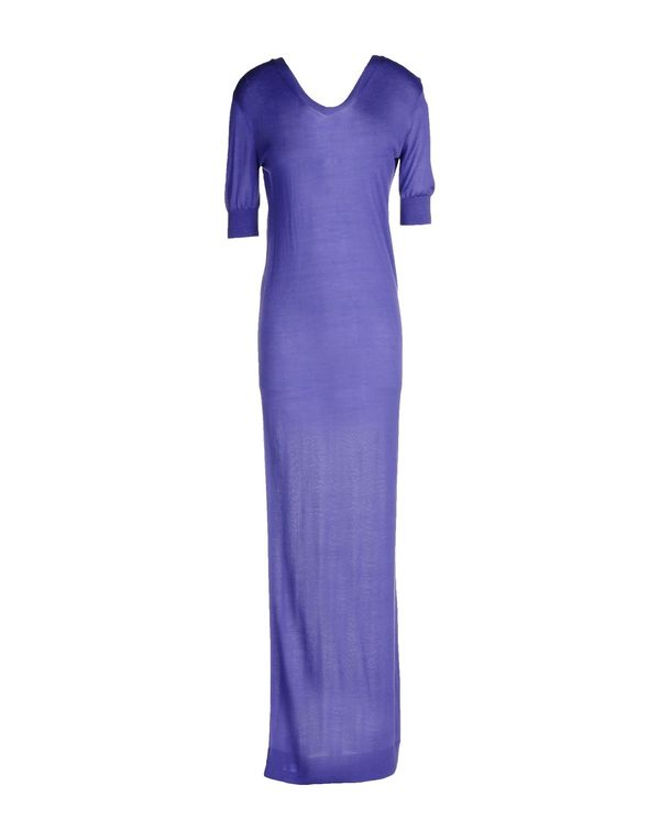 紫色 WHO*S WHO 长款连衣裙