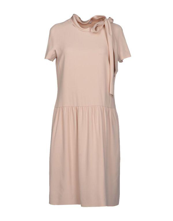 浅粉色 MOSCHINO 短款连衣裙