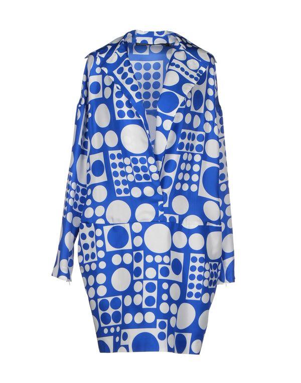 蓝色 GAETANO NAVARRA 短款连衣裙