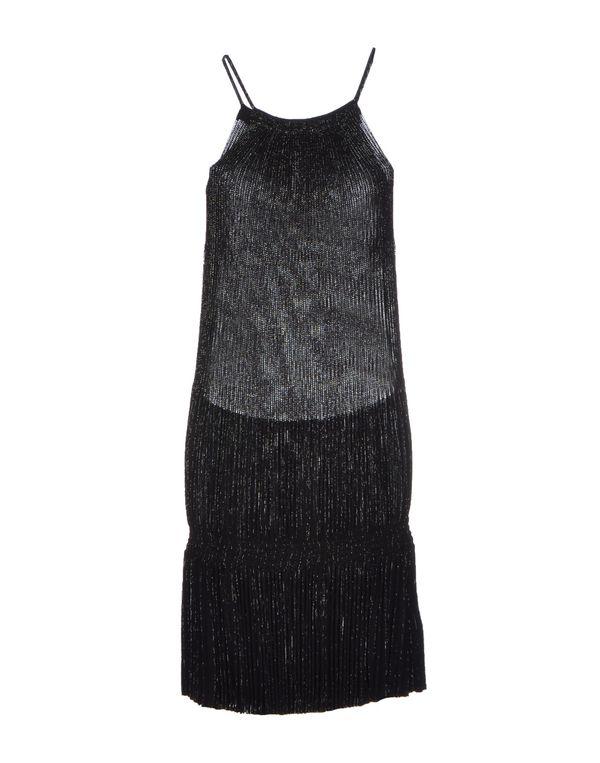 黑色 BLUMARINE 短款连衣裙