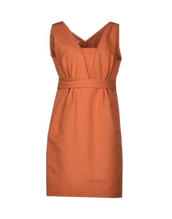 橙色 MOSCHINO 短款连衣裙