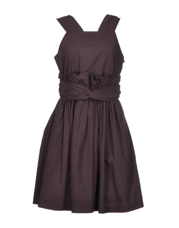 巧克力色 MSGM 短款连衣裙